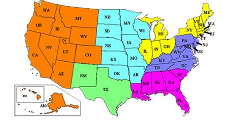 Sections Of Usa by Civil Trial Sections Geographical Map Tax Department Of Justice