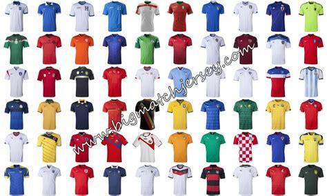 Jersey Brasil 2014 Grade Ori jersey bola piala dunia 2014 big match jersey toko