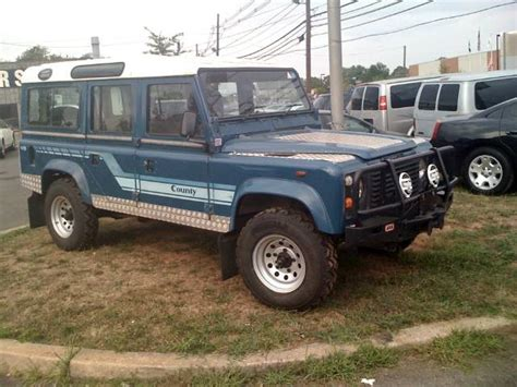 land rover 1985 1985 land rover defender 110 county details somerset nj