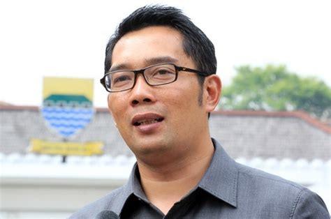 biography of ridwan kamil ini janji ridwan kamil jika persib bandung juara piala