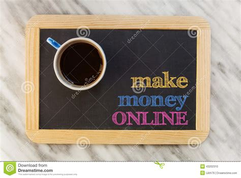 Make Money From Photos Online - make money online stock photo image 43202310