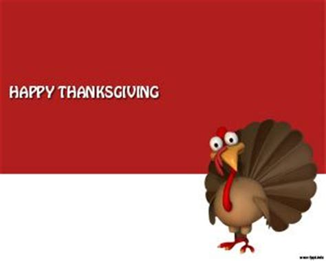 turkey powerpoint template happy thanksgiving powerpoint template