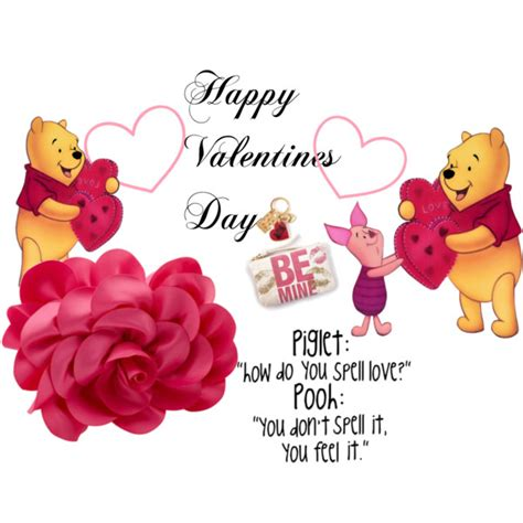 winnie the pooh valentines day valentines day winnie the pooh polyvore