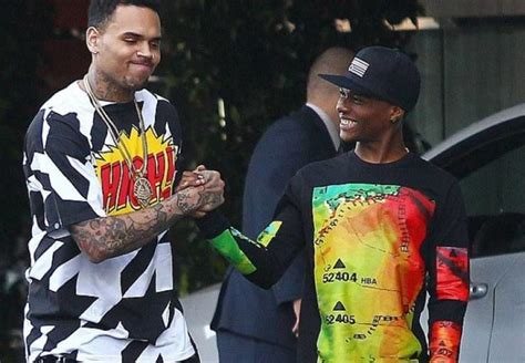 is wizkid the inspiration behind chris browns new haircut wizkid african bad gyal feat chris brown hipipo