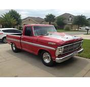1970 Ford F100 Short Bed Bump Side Drag Truck