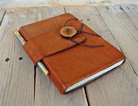 Handmade Journal - handmade leather journals on behance