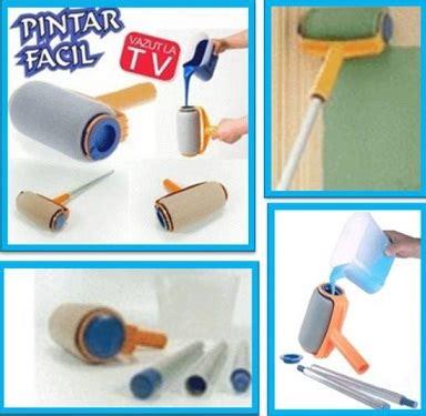 Alat Cat Dinding Pintar Facil Tool Paint Roll jual pintar facil smart paint roller alat cat dinding bangun barang rumah tangga