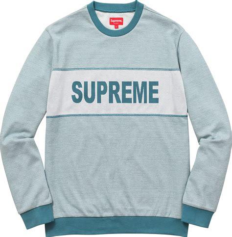 Sweater Vetemens X Chion Noval Clothing Supreme Jersey Crewneck Shirt New 100 Images Supreme