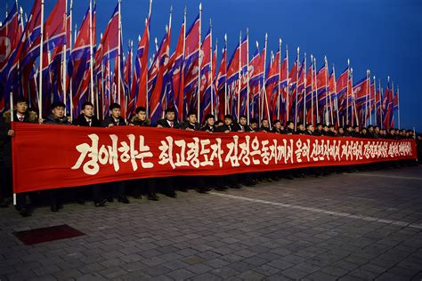 korea during new year n korea holds mass rally to push s new year message