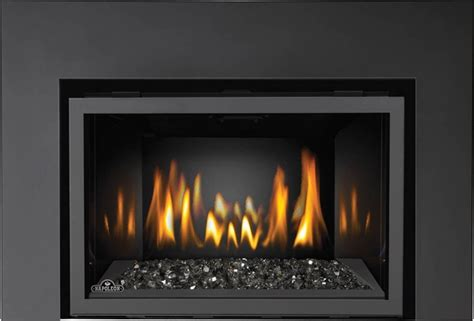 glass gas fireplace inserts napoleon ir3gnsb fireplace insert with light ribbon