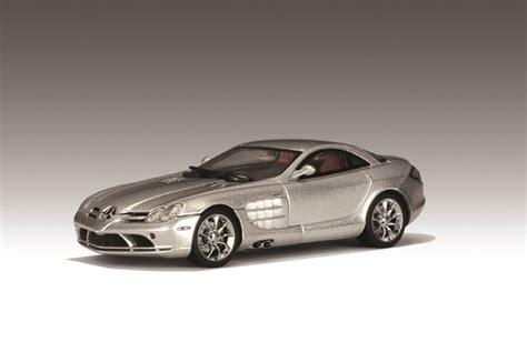 Autoart 1 43 Mercedes Slr Mclaren autoart mercedes slr mclaren silver 56121 in 1