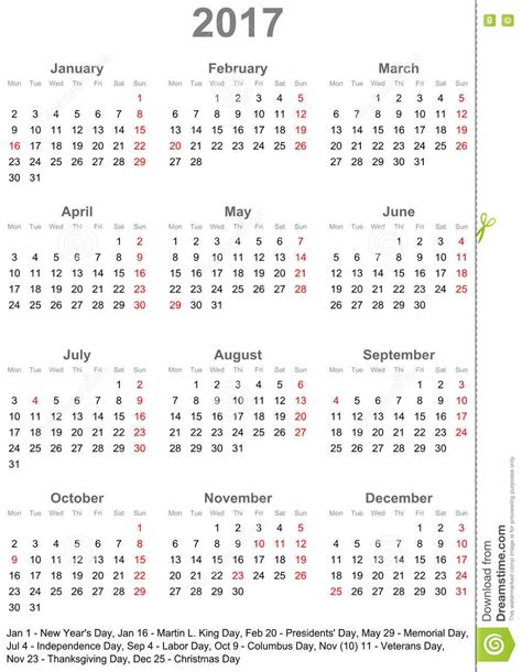 printable year at a glance calendar 2017 2017 year at a glance printable calendar calendar 2017