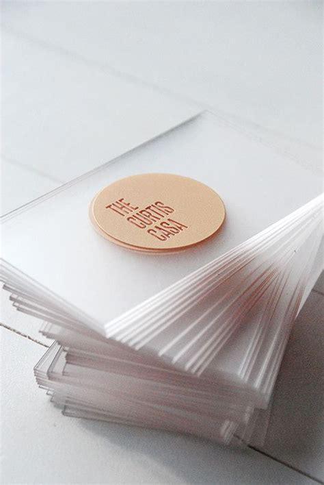 Best Transparent Business Cards