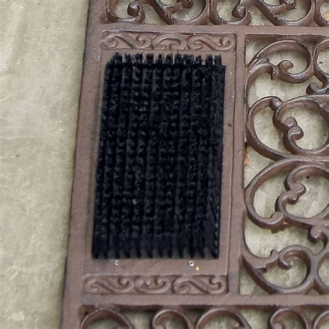 Cast Iron Doormat Cast Iron Doormat With Brush And Scraper By Dibor