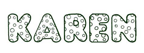 imagenes de letras goticas que digan karen nombre de karen imagui
