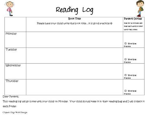 printable pre k reading log 20 best reading log templates free premium templates