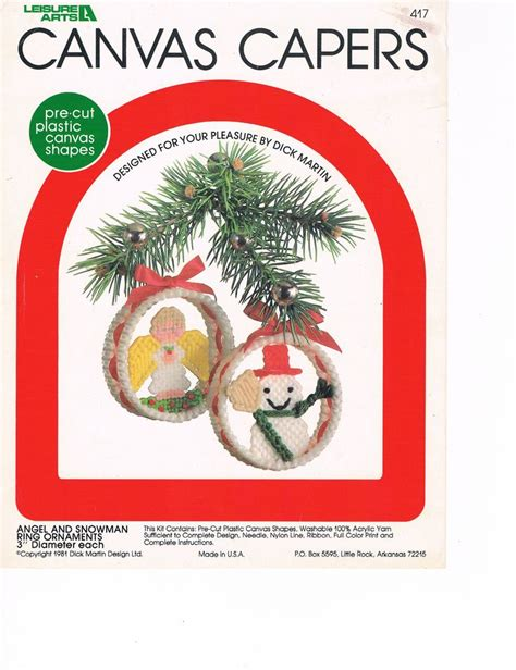 best of the west christmas ornaments plastic canvas kit 524 best images about plastic canvas on