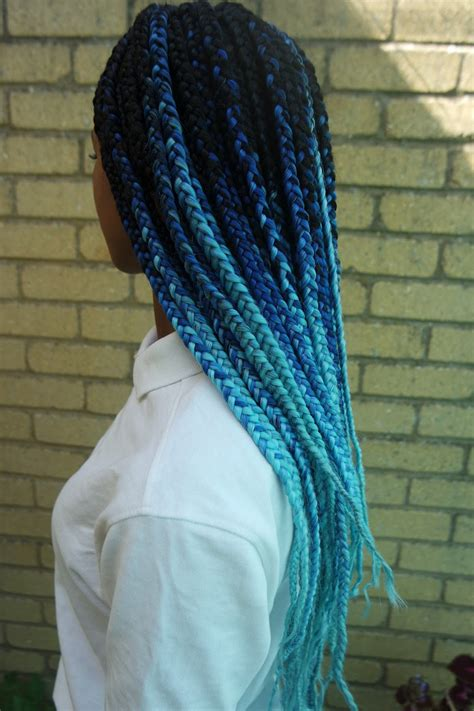Jewel Tones Colors 30 Blue Ombre Hair Color Ideas For Bold Trendsetters