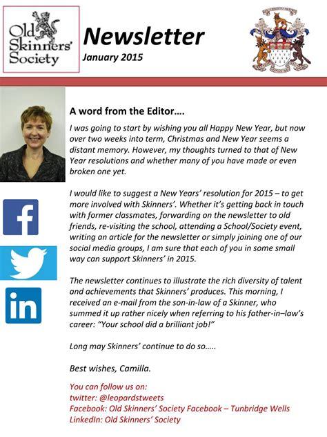 newsletter jan 2015 by skinners school issuu