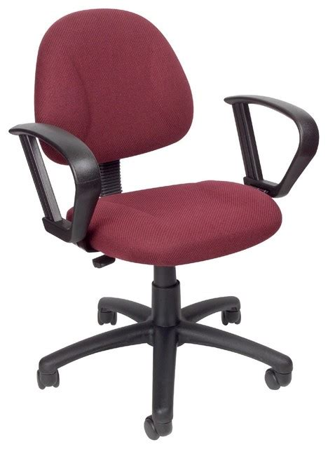 computer chair fabric w lumbar support loop