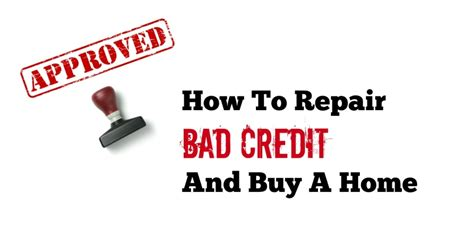 fix bad kredit what credit score do i need when buying a house