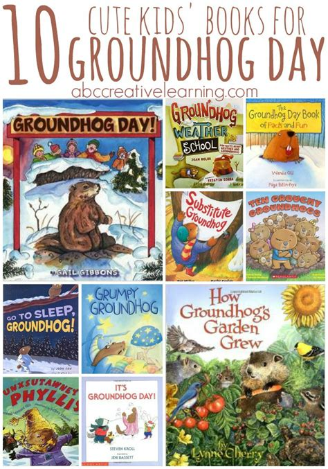 groundhog day kindergarten the best 10 books for groundhog day celebration
