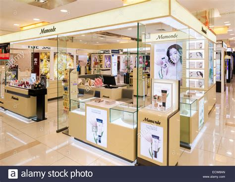 Lipstik Shop mamonde cosmetics and makeup store display of south korean skincare stock photo 76772717 alamy