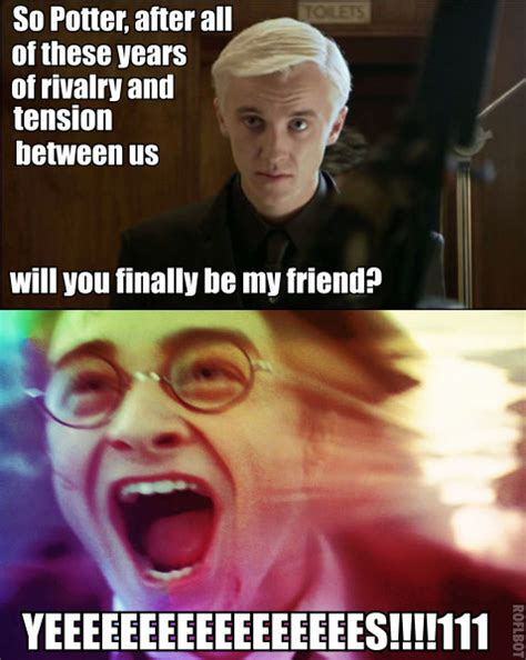 Draco Malfoy Memes - funny harry potter memes draco www pixshark com images