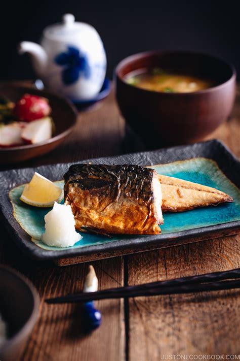 grilled mackerel saba shioyaki   cookbook
