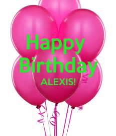 happy birthday alexis keep calm and carry on image