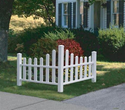 Decorative Garden Fence by Corner Decorative Fence Home Depot Price Ezfencedesign Us