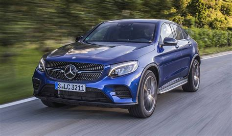mercedes 250 coupe 2017 mercedes glc coupe review gtspirit