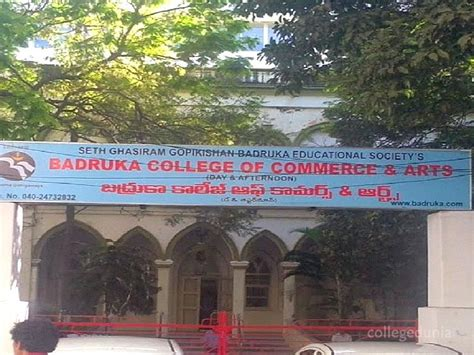 Badruka College Mba by Badruka College Of Commerce And Arts Bcca Hyderabad