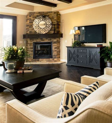 How Is Room Best 25 Furniture Around Fireplace Ideas On