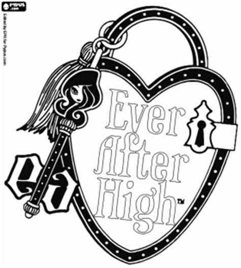 Ever After High Logo Coloring Pages | ever after high logo https www google com search q