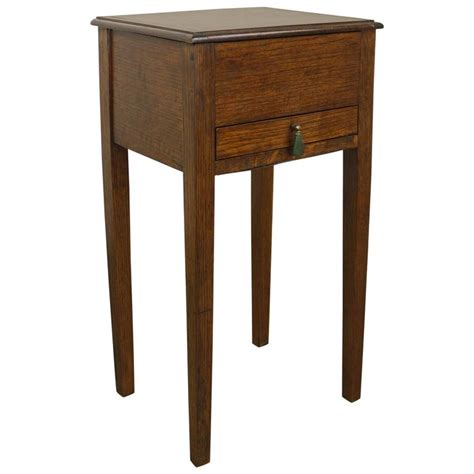 and crafts table arts and crafts sewing box side table at 1stdibs