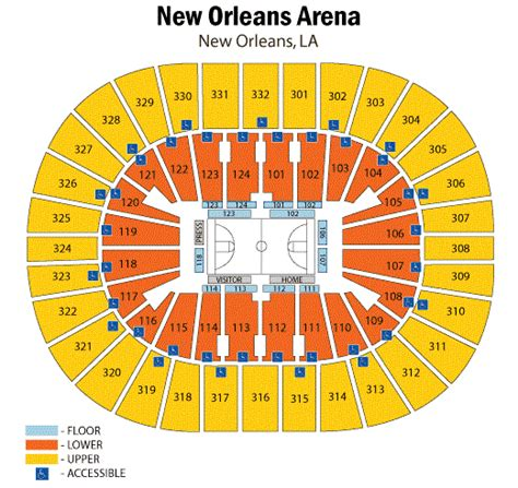 smoothie king center seating chart smoothie king center