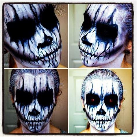 kiss makeup tutorial demon evil demon halloween makeup tutorial halloween