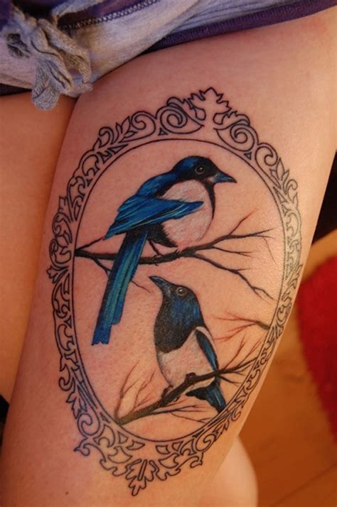 picture of tattoos best thigh tattoos designs for collections
