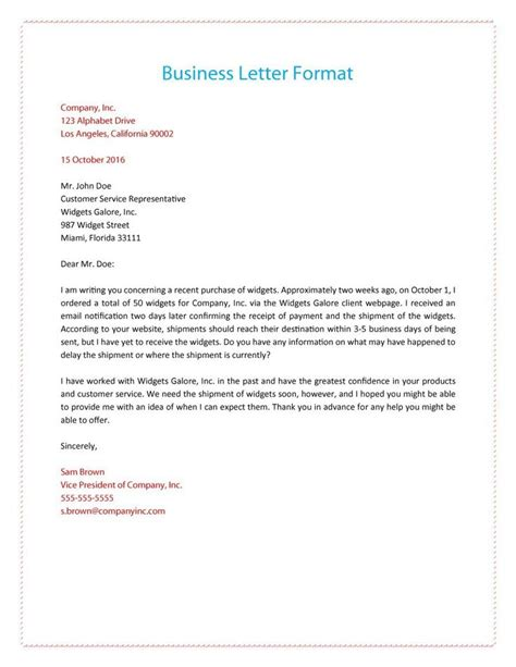 letter layout subject the 25 best formal business letter ideas on pinterest