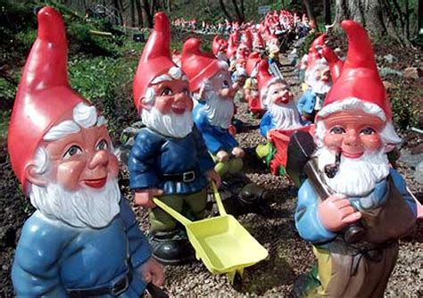 lawn gnome ghost theories creepy lawn gnomes