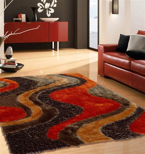 Orange And Brown Area Rugs Roselawnlutheran Area Carpets And Rugs