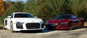 2017 chevy camaro 1le 2018 vw golf r acura nsx vs audi