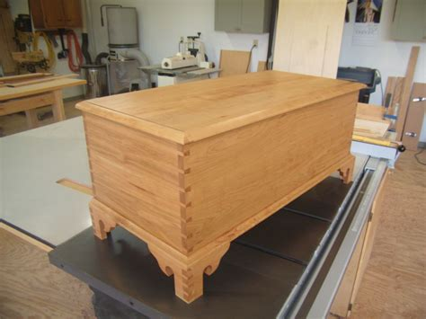 custom  chippendale blanket chest  byrd woodworking