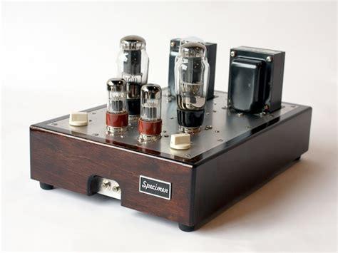 tube amplifier  fi stereo dark walnut finish