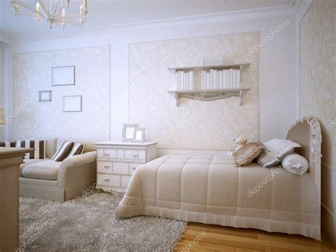 da letto classico design classico da letto di lusso foto stock