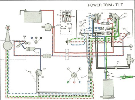 omc chevy solenoid wiring diagram 28 images omc