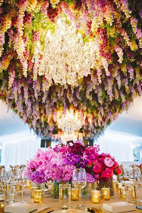 Wedding Flower Decorating by 25 Best Ideas About Flower Chandelier On