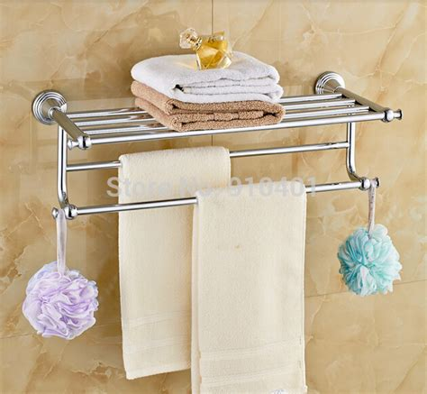 towel hangers for bathroom wholesale and retail promotion modern chrome brass