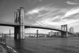 Duvet Cover White Nyc Brooklyn Bridge Photograph By Mike Mcglothlen